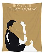 No070 My Tbone Walker Minimal Music Poster Tapestry