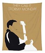 No070 My Tbone Walker Minimal Music Poster Tapestry