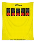 No075 My Senna Minimal Movie Poster Tapestry