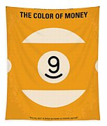 No089 My The Color Of Money Minimal Movie Poster Tapestry