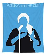 No099 My Adele Minimal Music Poster Tapestry