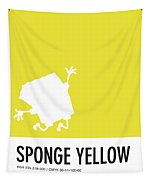 No10 My Minimal Color Code Poster Spongebob Tapestry