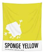 No10 My Minimal Color Code Poster Spongebob Tapestry