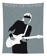 No107 My Mark Knopfler Minimal Music Poster Tapestry