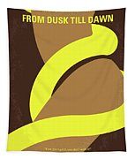 No127 My From Dusk This Dawn Minimal Movie Poster Tapestry