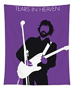 No141 My Eric Clapton Minimal Music Poster Tapestry