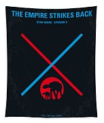 No155 My Star Wars Episode V The Empire Strikes Back Minimal Movie Poster Tapestry