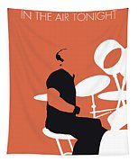 No163 My Phil Collins Minimal Music Poster Tapestry