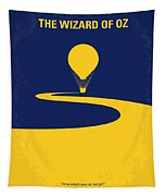 No177 My Wizard Of Oz Minimal Movie Poster Tapestry