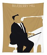 No190 My Fats Domino Minimal Music Poster Tapestry