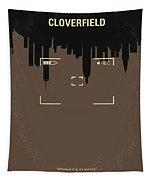 No203 My Cloverfield Minimal Movie Poster Tapestry