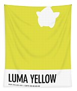 No40 My Minimal Color Code Poster Luma Tapestry