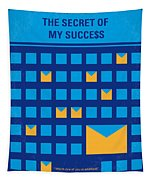 No464 My The Secret Succes Minimal Movie Poster Tapestry