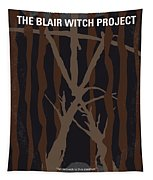 No476 My The Blair Witch Project Minimal Movie Poster Tapestry
