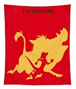 No512 My The Lion King Minimal Movie Poster Tapestry