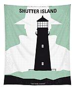 No513 My Shutter Island Minimal Movie Poster Tapestry