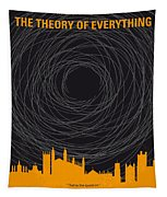 No568 My The Theory Of Everything Minimal Movie Poster Tapestry