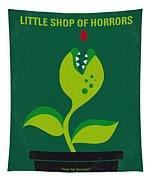 No611 My Little Shop Of Horrors Minimal Movie Poster Tapestry