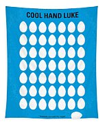 No616 My Cool Hand Luke Minimal Movie Poster Tapestry