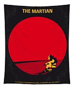 No620 My The Martian Minimal Movie Poster Tapestry