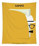 No671 My Capote Minimal Movie Poster Tapestry