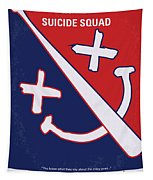 No680 My Suicide Squad Minimal Movie Poster Tapestry