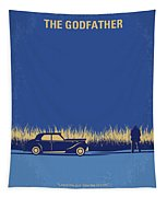 No686-1 My Godfather I Minimal Movie Poster Tapestry