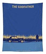 No686-1 My Godfather I Minimal Movie Poster Tapestry