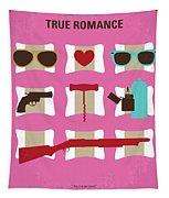 No736 My True Romance Minimal Movie Poster Tapestry