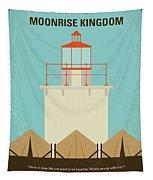 No760 My Moonrise Kingdom Minimal Movie Poster Tapestry