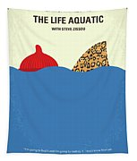 No774 My The Life Aquatic With Steve Zissou Minimal Movie Poster Tapestry