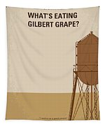 No795 My Whats Eating Gilbert Grape Minimal Movie Poster Tapestry