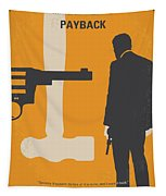No854 My Payback Minimal Movie Poster Tapestry