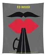 No924 My Ed Wood Minimal Movie Poster Tapestry