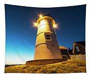 Nobska Light Falmouth Ma Cape Cod Window Shadow Tapestry