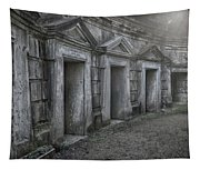 Nocturnal Alley Tapestry