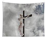 Nordic Female Jesus Tapestry