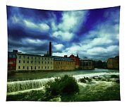 Norrkoping Waterfall Tapestry
