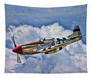 North American P-51 Mustang  Tapestry