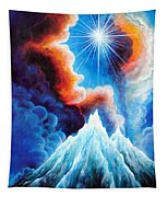 North Caucasus Mountains, Sunset. My Homeland Tapestry