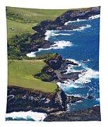 North Coast Of Maui Tapestry