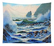 North Coast Surf Tapestry