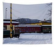 North Conway Nh Scenic Railroad Tapestry