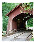 North Fork Yachats Bridge 2 Tapestry