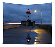 North Pier Reflections Tapestry