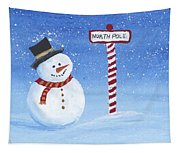 North Pole Tapestry