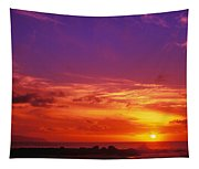 North Shore Sunset Tapestry
