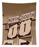 North South 1 Tapestry