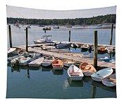 Northeast Harbor Maine Tapestry