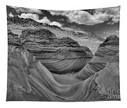 Northern Arizona Desert Swirls Tapestry